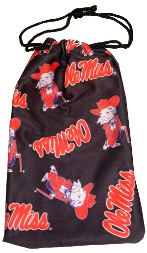 Ole Miss Micro Fiber Pouch